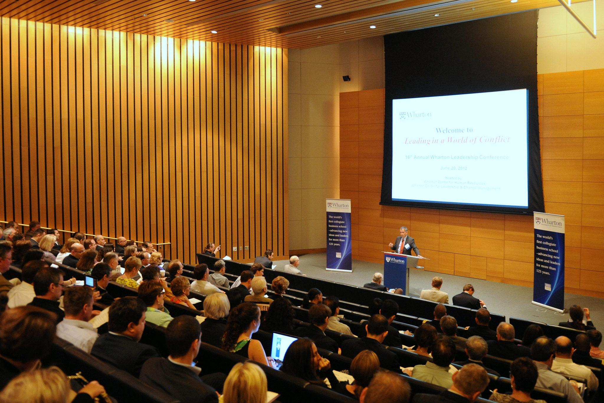Wharton Leadership Lecture